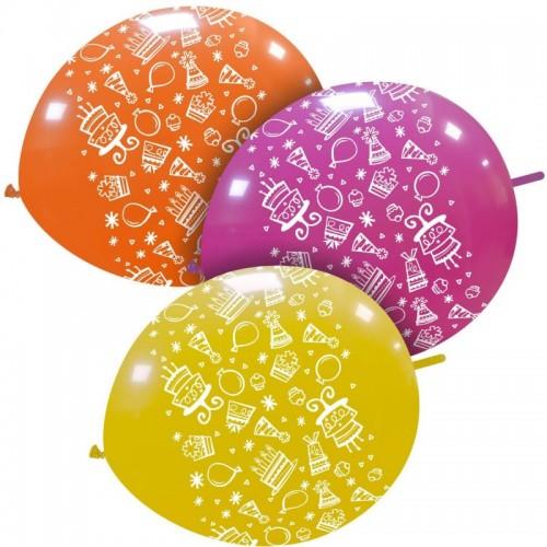 "12"" Happy Birthday Pois..."