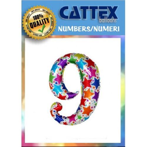 "Zebraloon Maxi Numero ""8""..."