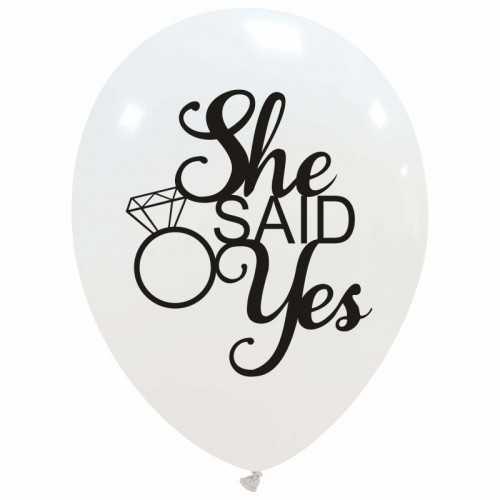 "12"" She Said Yes..."